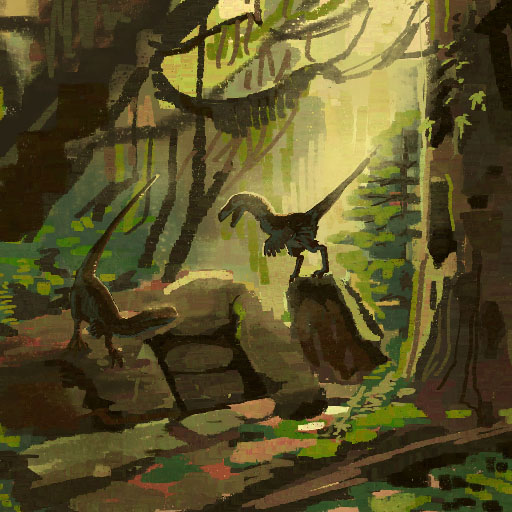 Theropod Forest